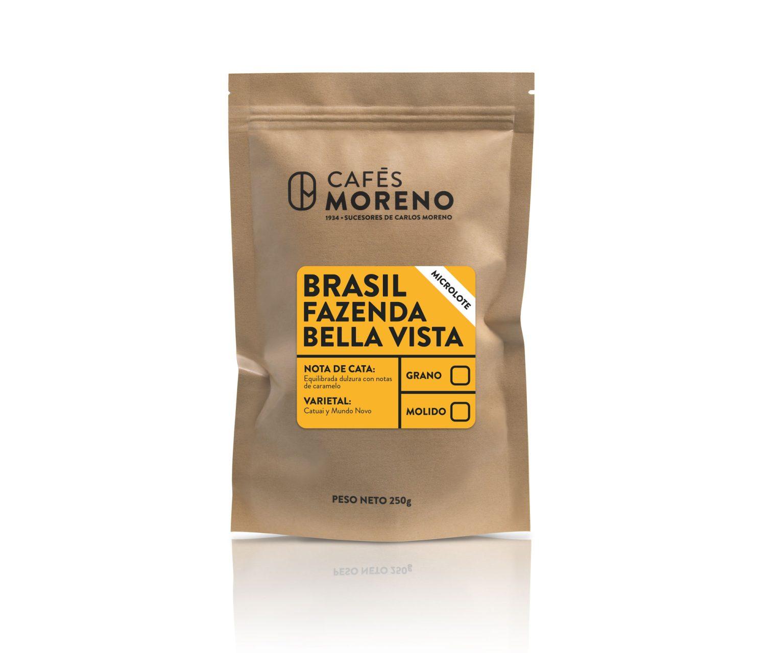 foto bolsa de café brasil Fazenda bella vista