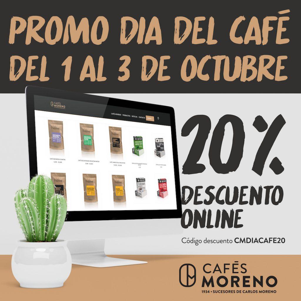 Promo online dia del cafe cafes moreno